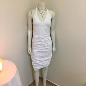 Victoria Secret White Halter Dress NWT XS A/B M